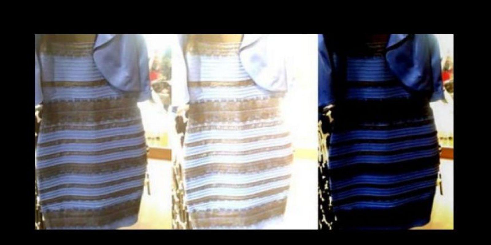 """Ustedes llegaron a pelear con amigos y todo para convencerlos de que el vestido era o """"blanco/dorado"""" y """"azul/negro"""" Foto:vía Twitter"""