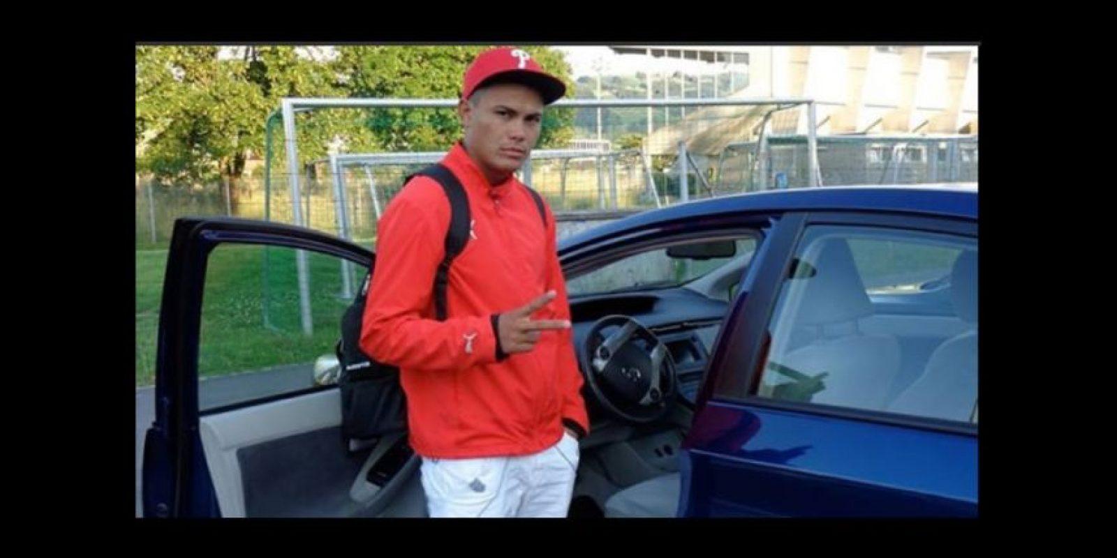 Keilen García es el último futbolista que abandonó a la selección de Cuba Foto:Twitter