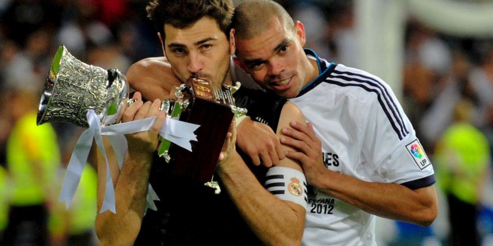 2012: Supercopa de España Foto:Getty Images