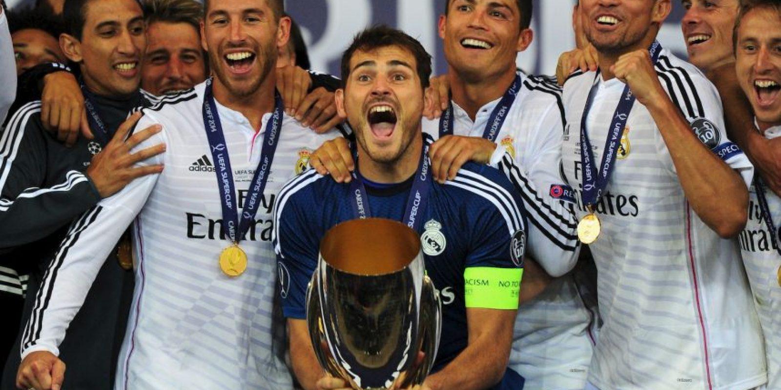2014: Supercopa de Europa Foto:Getty Images