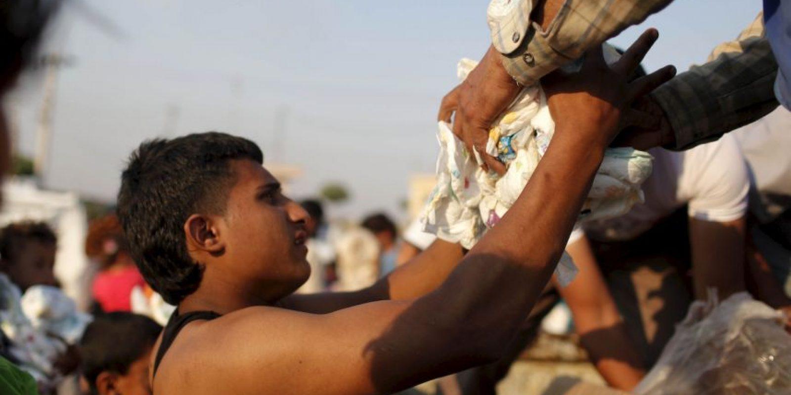 8. Muchos de estos refugiados viven en infraviviendas y bajo el umbral de la pobreza, apunta la ACNUR. Foto:Getty Images