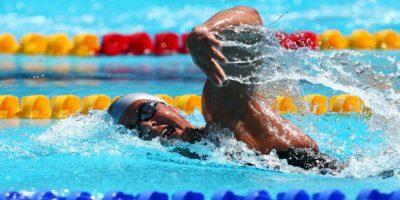 Participó en los Juegos Olímpicos de Londres 2012 en 400 metros libres. Foto:Getty Images