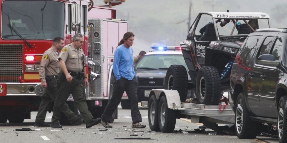 Revelan video del fatal accidente que involucró a Caitlyn Jenner