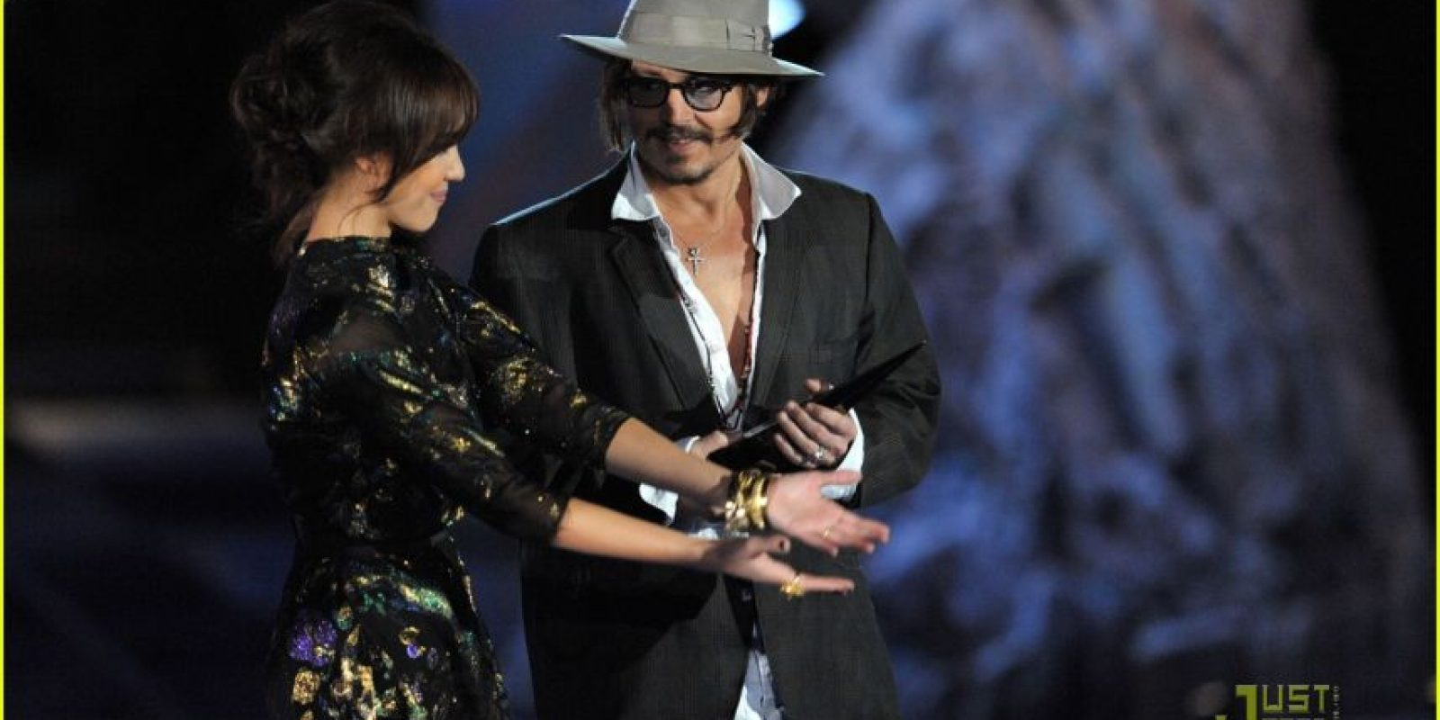 Jessica Alba y Johnny Deep