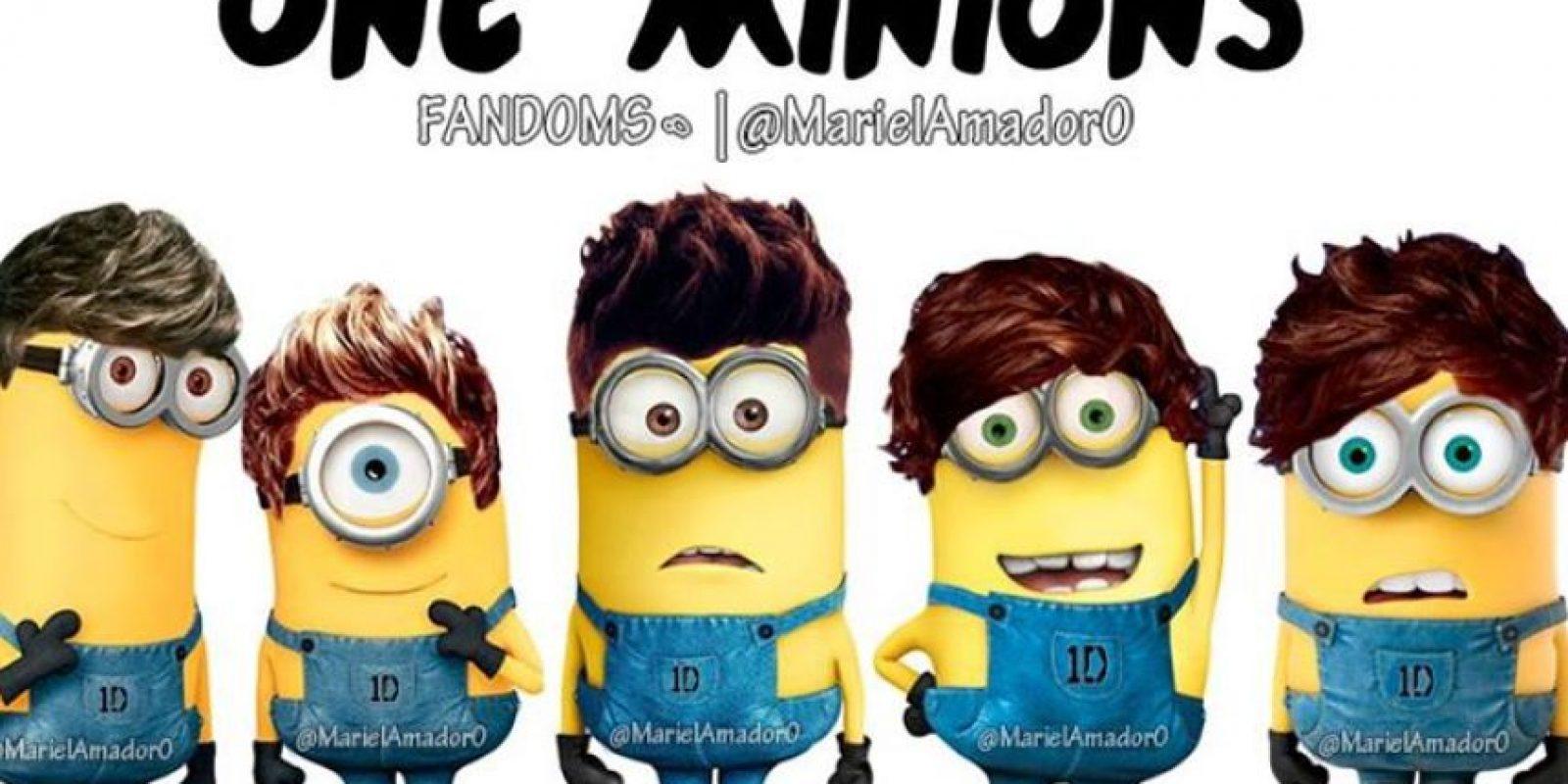 Laim Payne, Niall Horan, Zayn Malik, Harry Styles y Louis Tomlinson Foto:vía twitter.com/mariel_amador