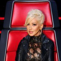 Christina Aguilera no se lava las manos. Foto:vía Getty Images