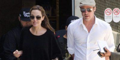 """Un testigo le contó a la revista """"Star"""" que Angelina Jolie y Brad Pitt tenían su casa hecha un asco. Foto:vía Getty Images"""