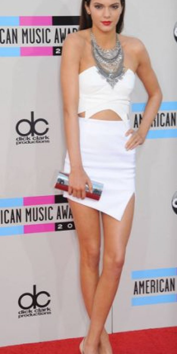 Un vestido arriesgado, pero sencillo a la vez. Foto:vía Getty Images
