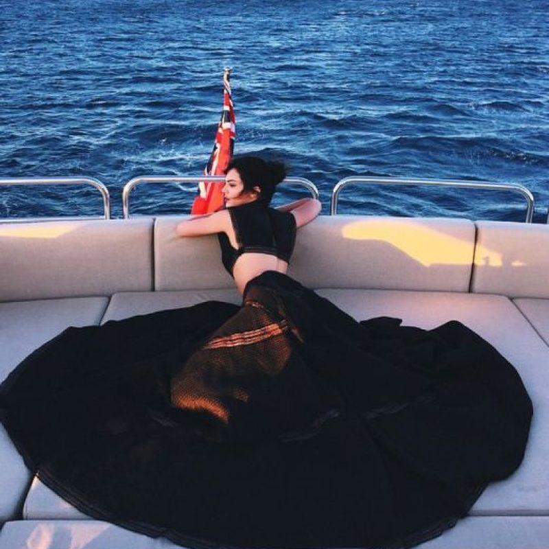A diferencia de su hermanastra Kim, Kendall Jenner sí sabe lo que es vestirse bien. Foto:vía Instagram/Kendall Jenner