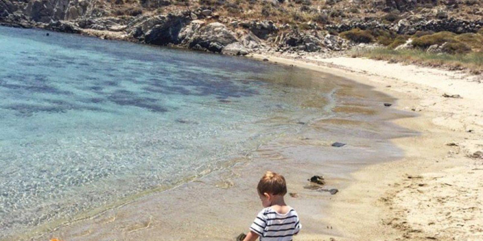 Y finalmente, estuvieron varios días en Grecia. Foto:Vía instagram.com/ikercasillasoficial