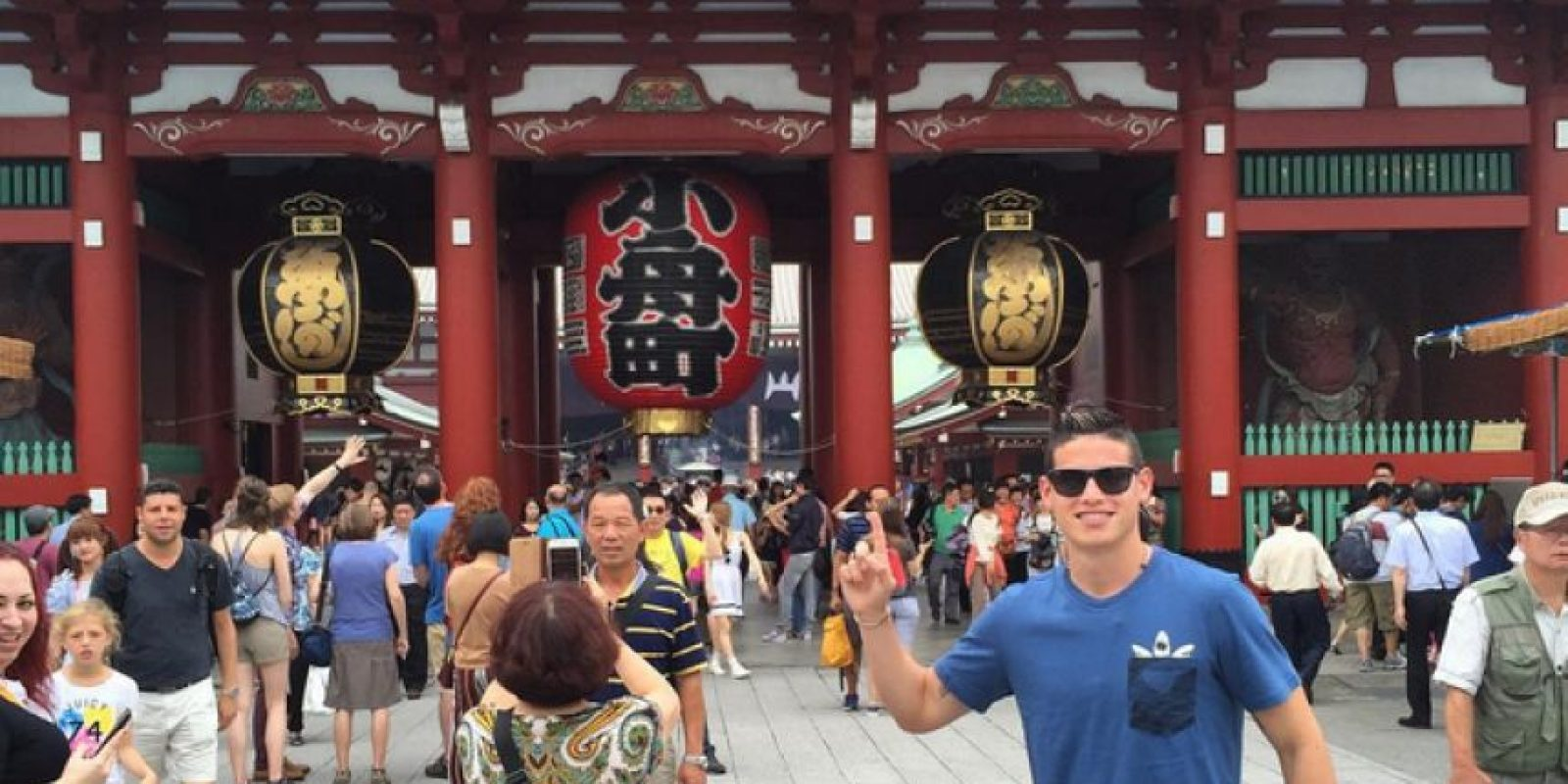 James Rodríguez disfrutó de Japón, Estados Unidos y Colombia al lado de su familia. Foto:Vía instagram.com/jamesrodriguez10