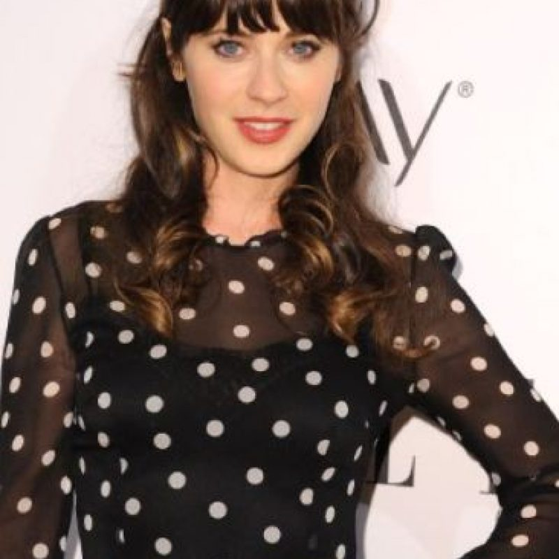 Zooey Deschanel Foto: vía Getty Images