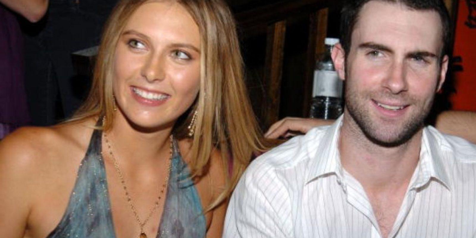 Aquí, en el cumpleaños de María Sharapova, en 2005. Foto:vía Getty Images