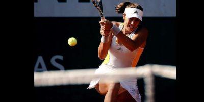 Se medirá en la final a la favorita Serena Williams Foto:Vía facebook.com/garbimuguruza