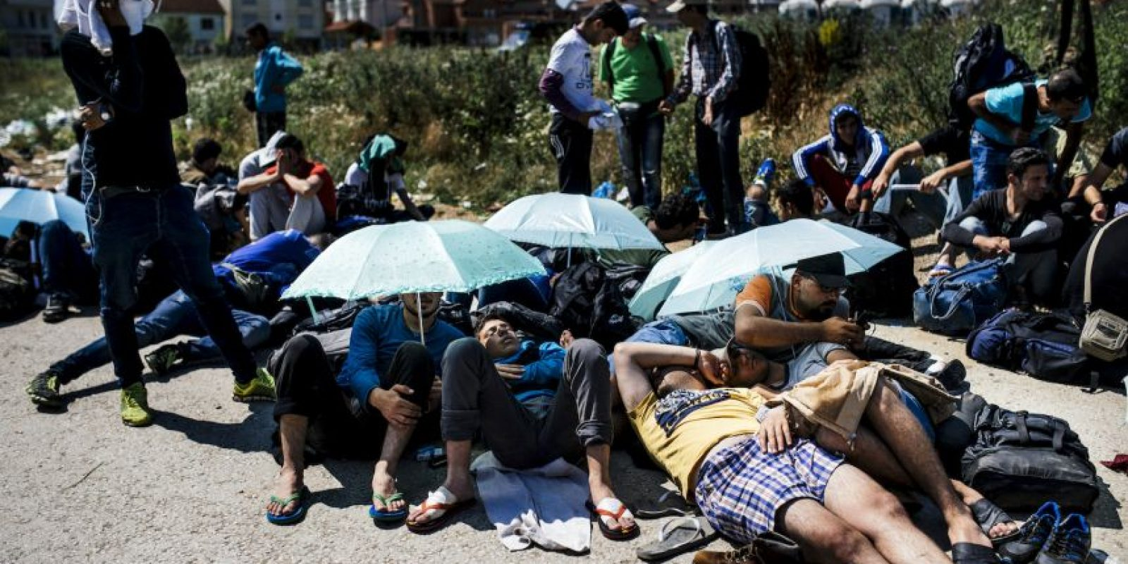 Ya que muchos fingen ser más jóvenes para recibir ayuda legal. Foto:AFP