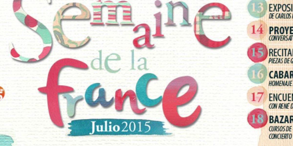 Listos para celebrar la semana de Francia en Guatemala