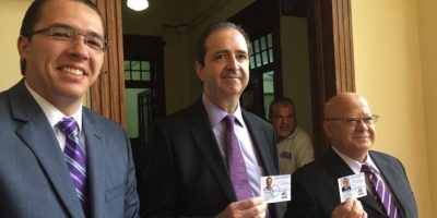 Jorge Mario García y Lizardo Sosa. Foto:Publinews
