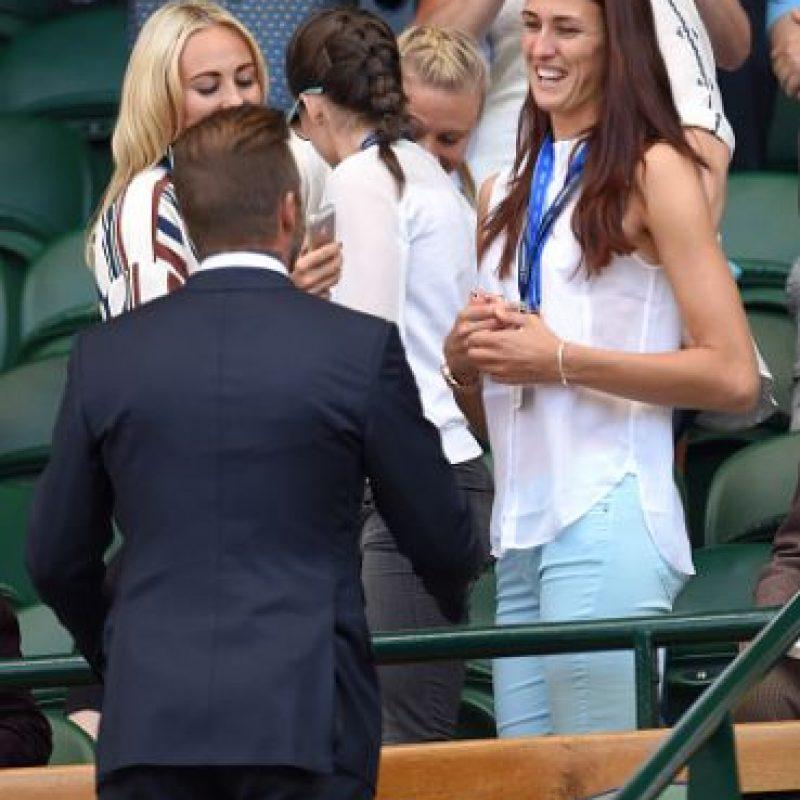 También saludó a las personas que se encontraban cerca de él. Foto:Getty Images
