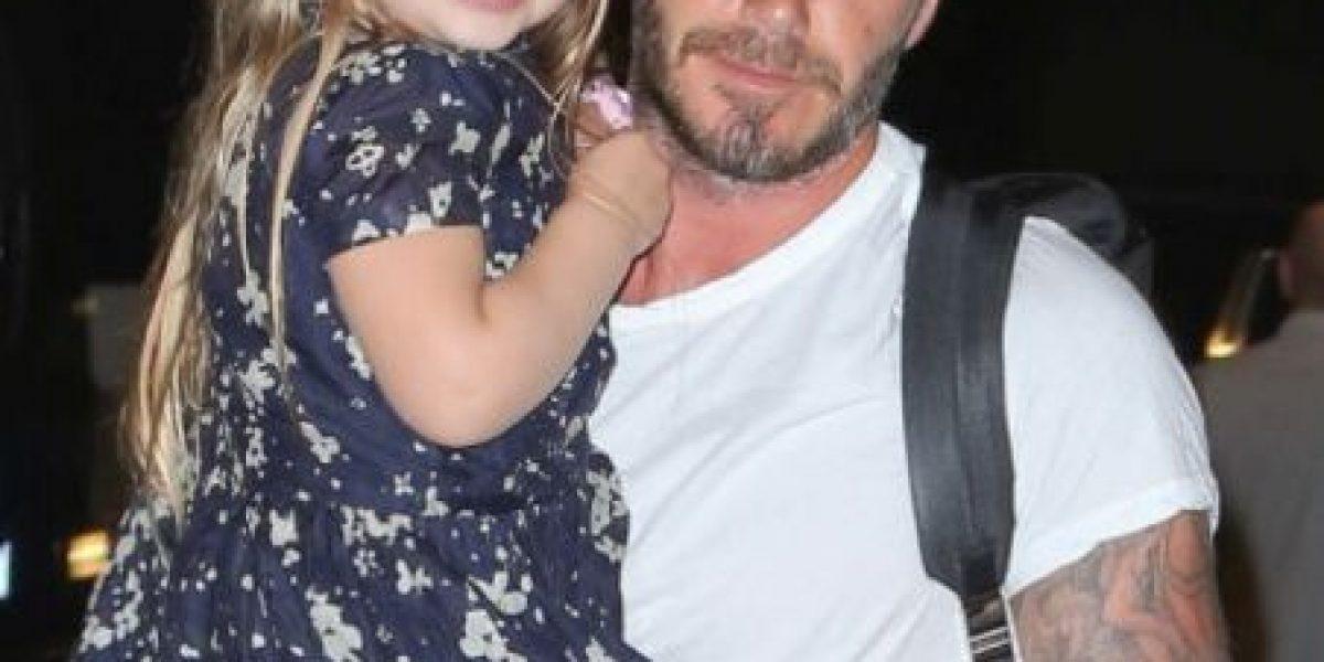 Así fue la adorable fiesta de cumpleaños de la hija de David Beckham