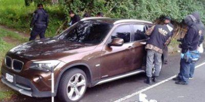 Localizan tres cuerpos en carretera a El Salvador