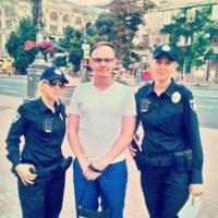 En la capital de Ucrania se reemplazaron a más de dos mil policías Foto:Twitter.com/dimalugansk