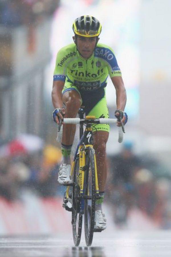 En 2010, el ciclista español dio positivo por clembuterol en una prueba realizada durante el Tour de Francia. Días después se comprobó que Contador había dado positivo en tres pruebas más por la misma sustancia en el Tour. Foto:Getty Images