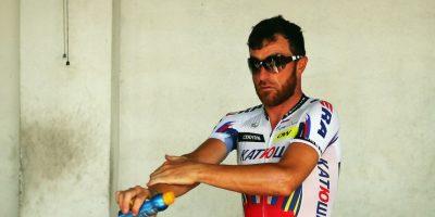 El ciclista italiano de 38 años dio positivo por cocaína en pleno Tour de Francia. Foto:Getty Images