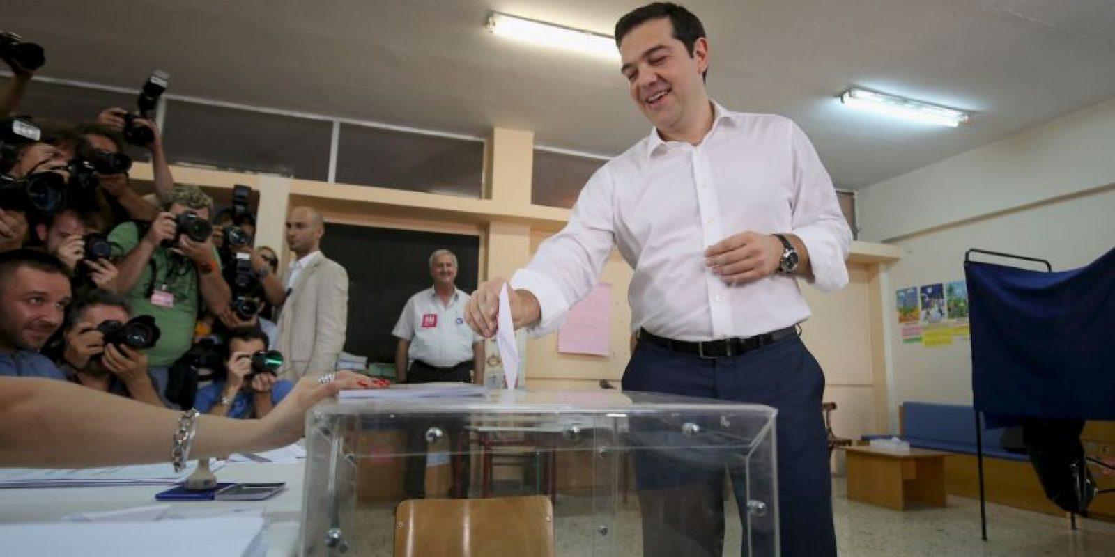 """El """"Oxi"""" (""""no"""", en griego) ganó con el 61.31% de los votos Foto:Getty Images"""