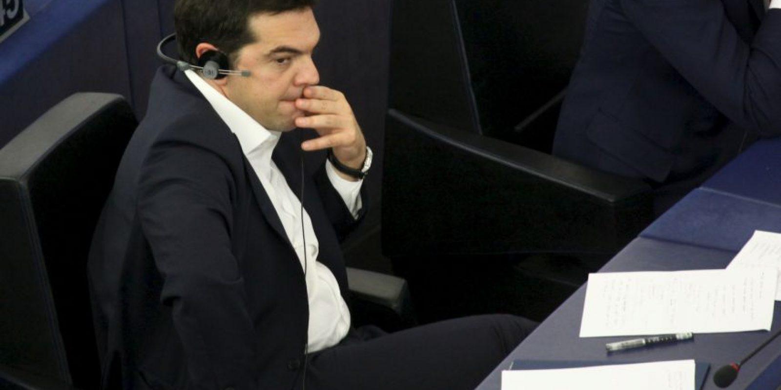 Por lo que el martes 7 de julio se presentó ante el Parlamento Europeo para explicar su posición en las negociaciones Foto:Getty Images
