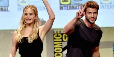 "Jennifer Lawrence eligió cantar ""Believe"" Foto: Getty Images"