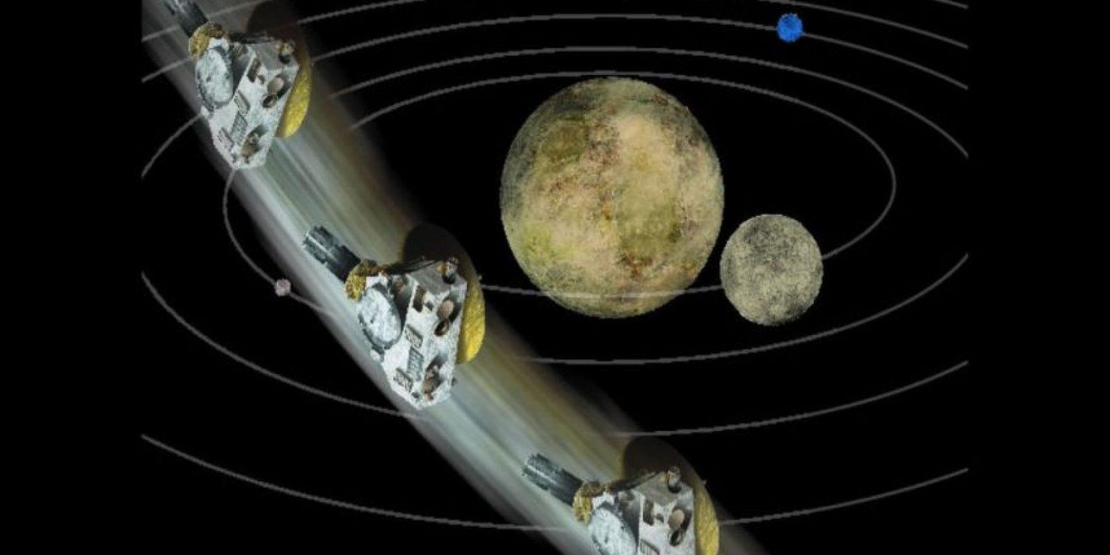 Después del acercamiento se intentará: buscar neblina en la atmósfera y buscar anillos y hojas de polvo. Foto:NASA