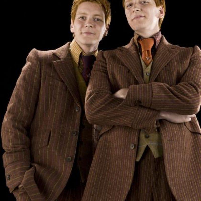 George jamás pudo volver a hacer un Patronus luego de la muerte de Fred, su hermano gemelo y compañero de vida. Foto:vía Warner Bros