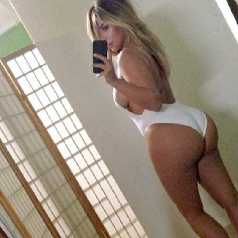 """No es para menos: esta """"selfie"""" causó revuelo absoluto. Foto:vía Instagram/kimkardashianwest"""