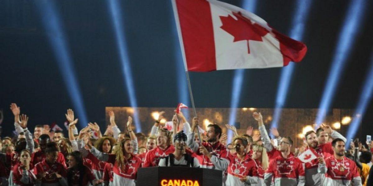 Así lucieron las delegaciones en la inauguración de los Juegos Panamericanos 2015