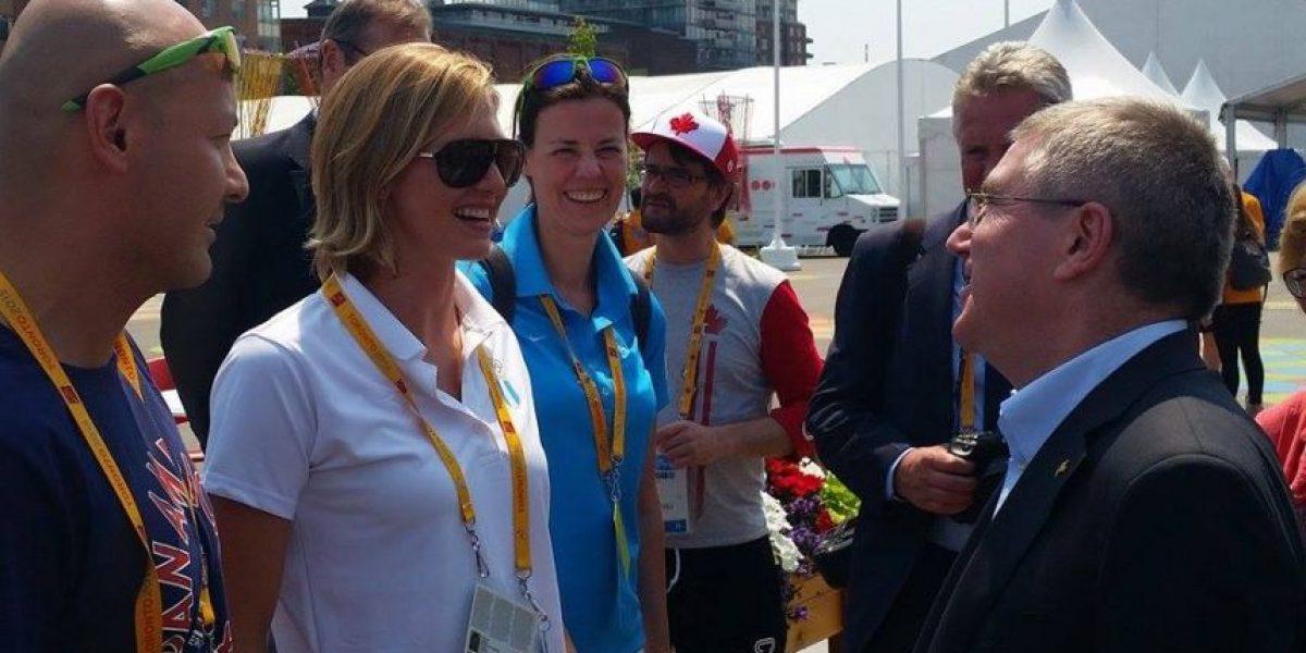 ¿Qué le dijo el presidente del Comité Olímpico Internacional a Gisela Morales?