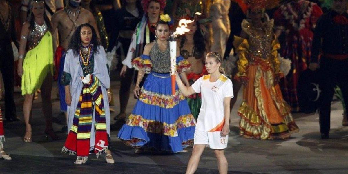 Las 16 imágenes más emotivas y coloridas de la inauguración de los Panamericanos