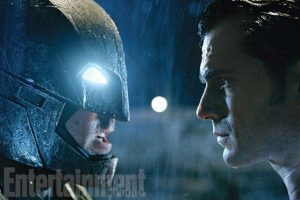 """Batman"" y ""Superman"" se enfrentarán por primera vez. Foto:Twitter/EW"
