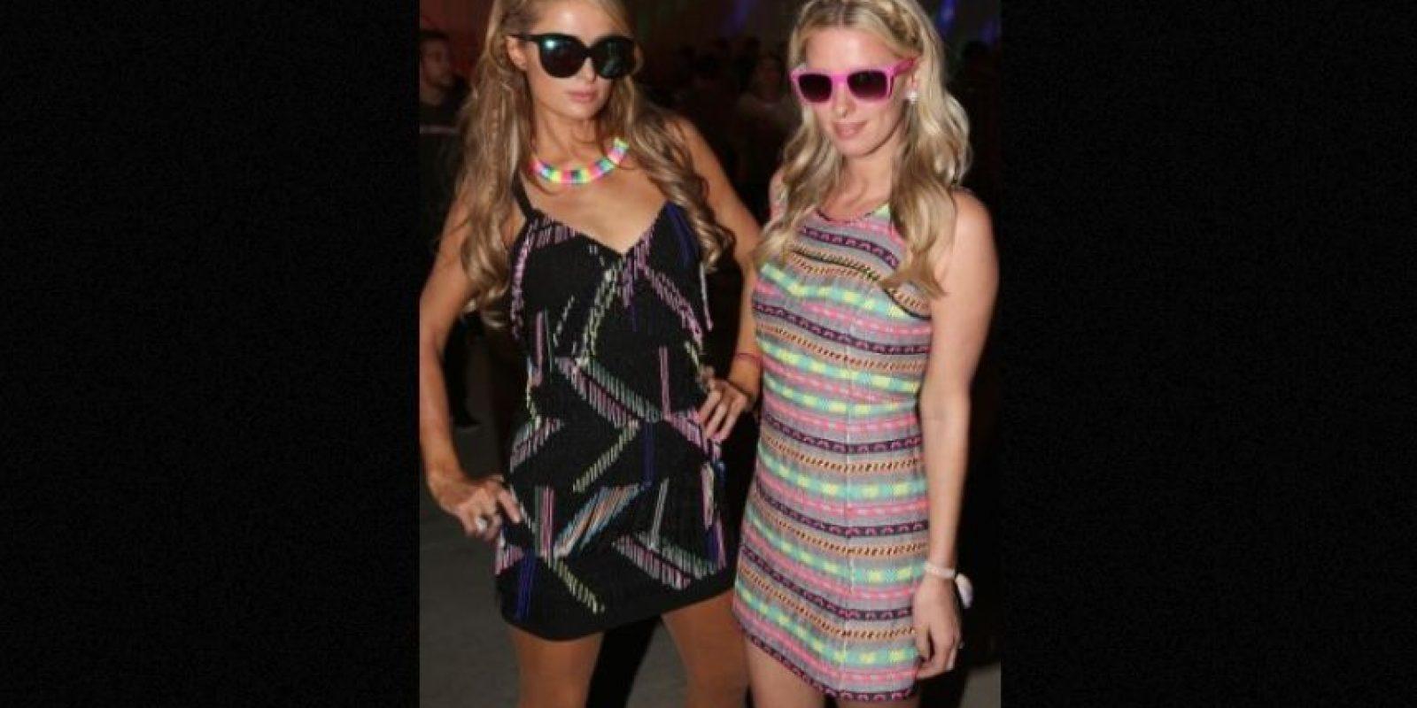Nicky es la hermana menor de Paris Hilton. Foto:Getty Images