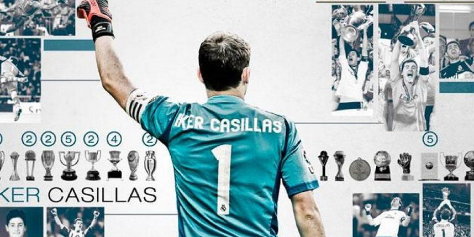 Iker Casillas se va del Real Madrid. Foto:twitter.com/realmadrid