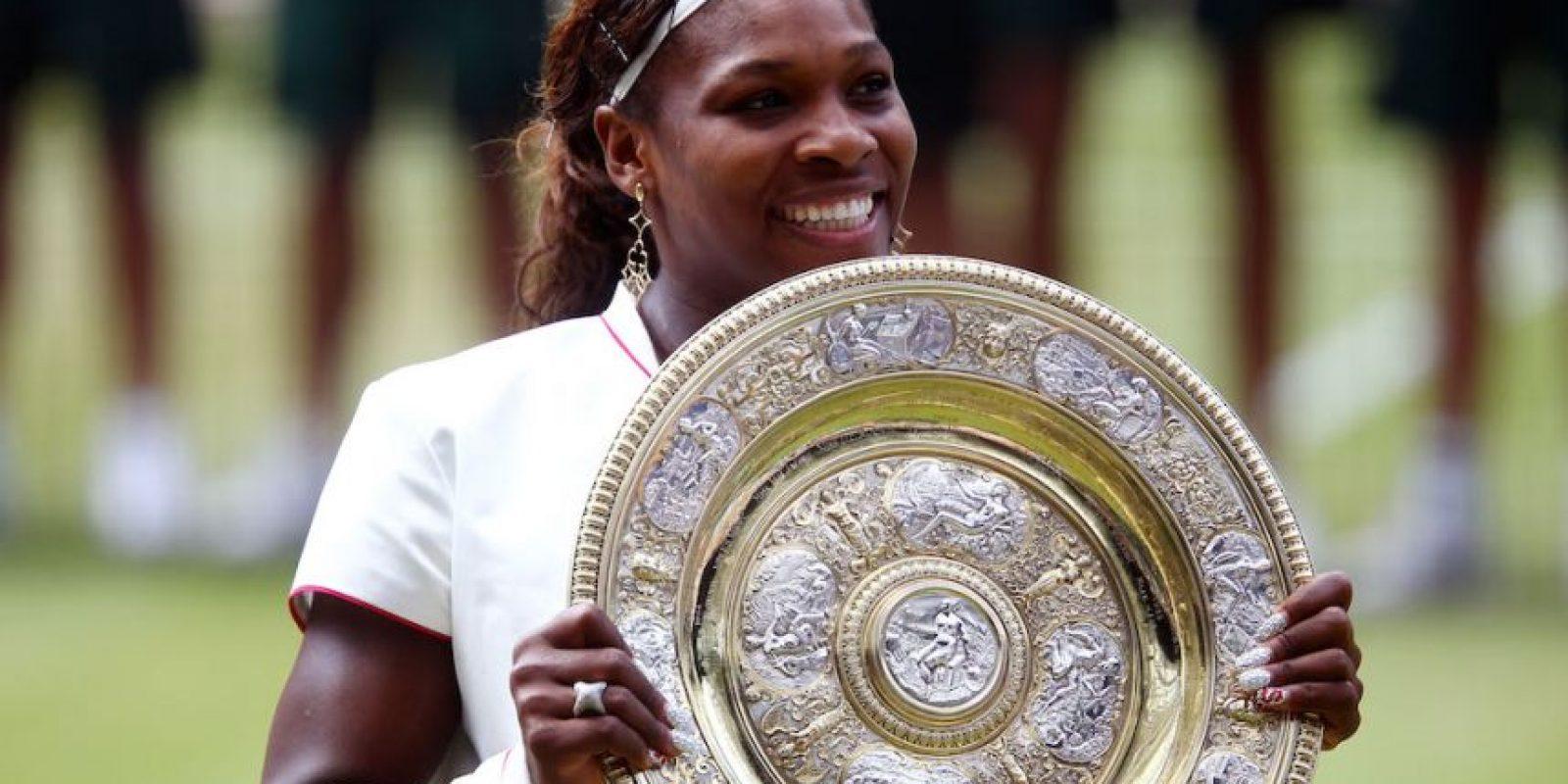 Fue su cuarto título de Wimbledon. Foto:Getty Images