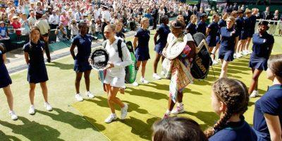 Serena venció en dos sets a la rusa Vera Zvonareva. Foto:Getty Images