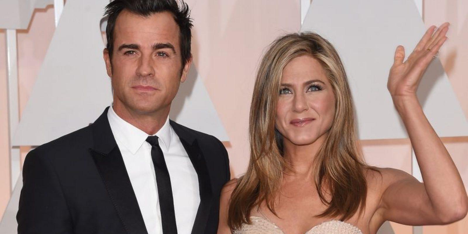 Jennifer Aniston y Theroux comenzaron a salir en mayo de 2011. Foto:Getty Images