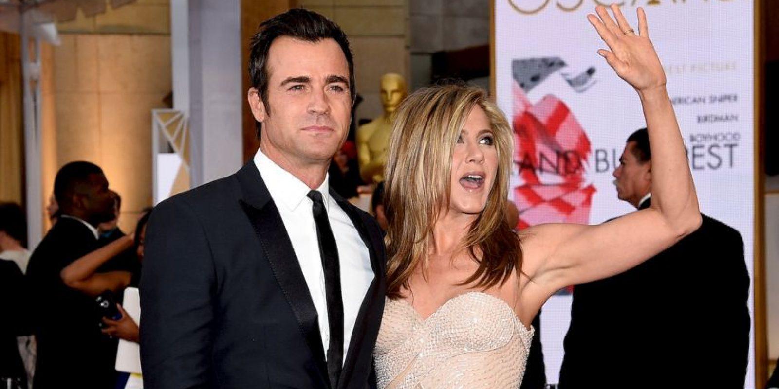 Jennifer Aniston dejó de ser una mujer soltera, y al parecer, varios famosos guardaron el secreto. Foto:Getty Images