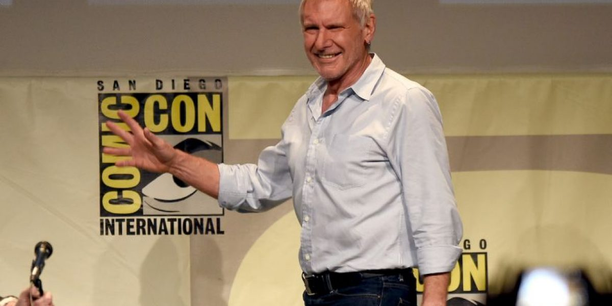 Comic Con: Aparición estelar de Harrison Ford tras accidente en avioneta