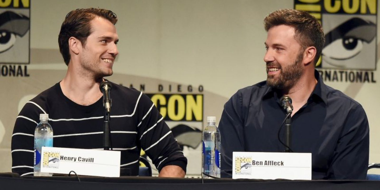 Ben Affleck y Henry Cavill Foto:Getty Images
