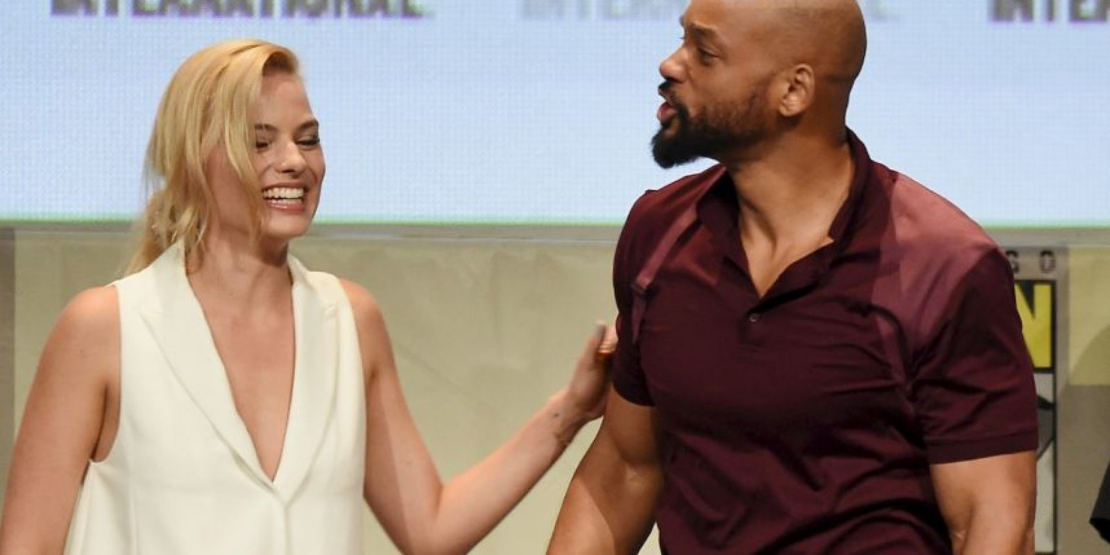 Margot Robbie y Will Smith Foto: Getty Images