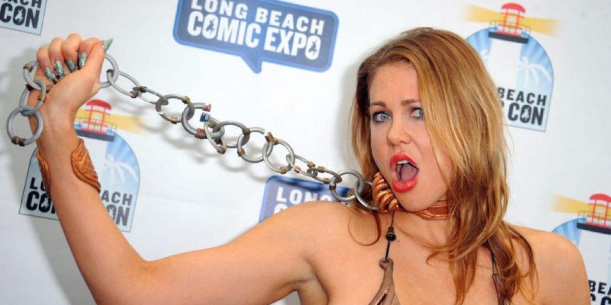 Esta actriz enseñó más de lo que debía con su cosplay en el Comic-Con