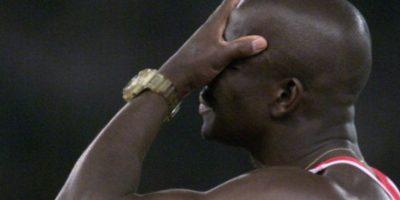 En 1997 compitió contra el plusmarquista Michael Johnson en una carrera y ganó. Se embolsilló 2 millones de dólares. Foto:vía Getty Images