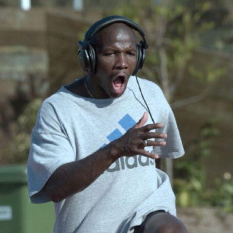 Fue campeón olímpico en los 100 metros lisos en Atlanta 96. Foto:vía Getty Images