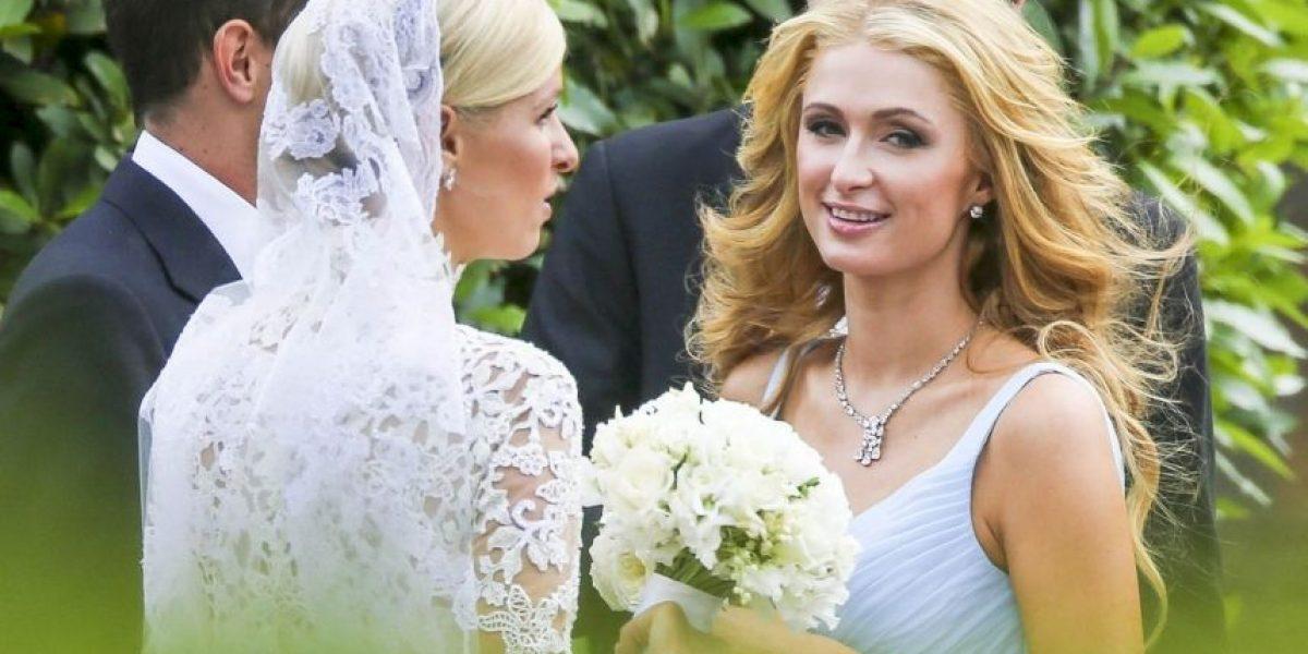 Nicky Hilton mostró de más en el día de su boda